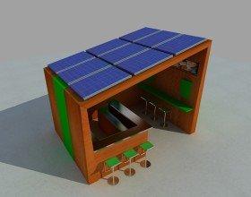 Modulo Chiosco Ecosostenibile