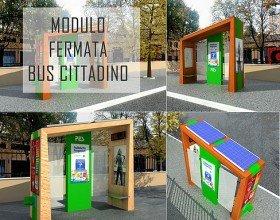 Modulo fermata Bus cittadino