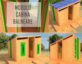 Modulo Cabina Balneare Ecologica