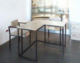 Tavolo pranzo con sedie – QUAD TETRIS