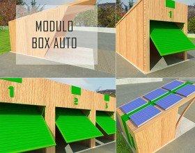 Modulo Parcheggio box Ecosostenibile